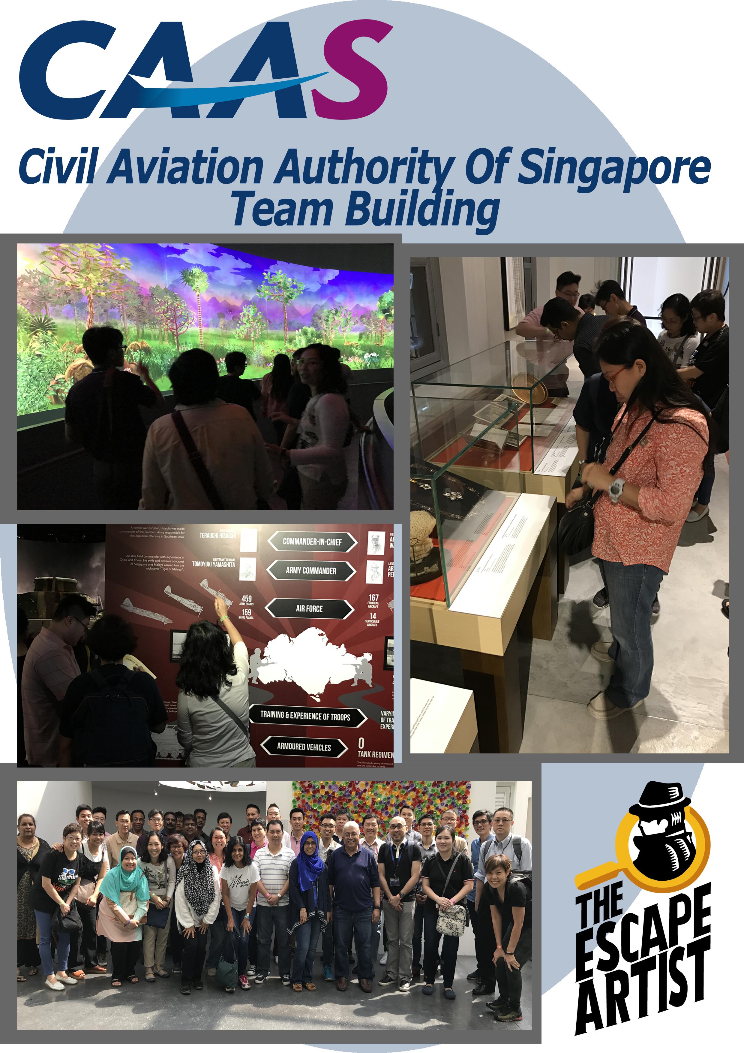 Indoor Corporate Room Escape Team Building Activities Singapore